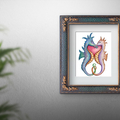 Together Forever ~ Seahorses Printable Art | Nursery Wall Decor | A5 & A4 sizes
