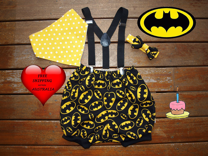 Miraculous Boys 1St Birthday Outfit Cake Smash Outfit Batman Photo Shoot Outfit Personalised Birthday Cards Epsylily Jamesorg