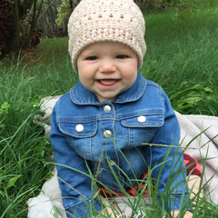 One for Everyone Crochet Beanie - Infant
