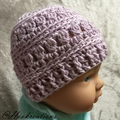 One for Everyone Crochet Beanie - Baby