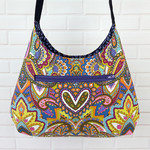 Shoulder Bag Indian Summer, Womens Handbag, Bohemian Hobo Bag