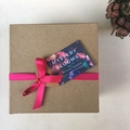 Personalized Mystery Blooms Gift Pack, custom  text seed packet gift and favour