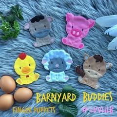 Barnyard Buddies Finger Puppet Set