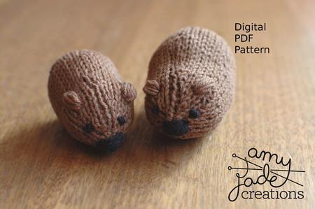 Wombat Knitting Pattern