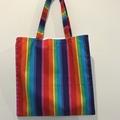 Rainbow library/shopping bag