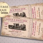 Train Birthday Invitation for Girl, Train Theme Party Idea, Steam Train Birthday