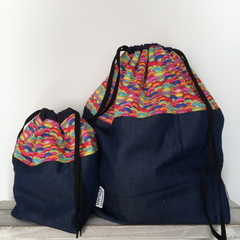 Rainbow Bag - Large