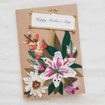 Hand-made Mother's Day card customisable