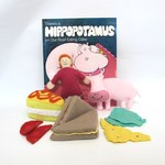 Hippo Book Set, Interactive Story Book