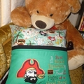"""Pirate"" Reading/Pocket Cushion (cover only)"