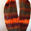 Crochet Infinity Scarf Snood