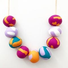 Violet necklace