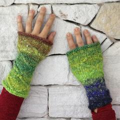 Boho Wrist Warmers