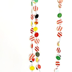 Confetti Circle Paper Garland | Circles Garland Paper Decoration | Nursery Decor