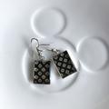 Free Postage! Japanese washi paper Resin Earrings