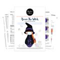 Bessie The Witch Skittle Doll Crochet Pattern