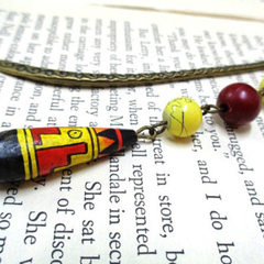 Tribal Style Bookmark for Book Lovers
