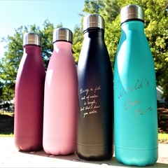 Personalised Stainless Steel Water Bottle (FREE postage within Australia)