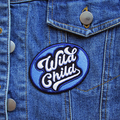 Wild Child Embroidered Iron On Patch