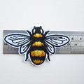 Bee Iron On Embroidered Patches for Jackets