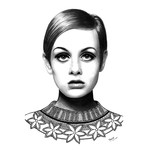 """Twiggy"" with a Twist 19cm x 27.5cm"