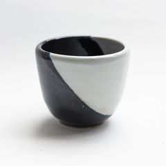 Spectre black and white espresso coffee or tea cup