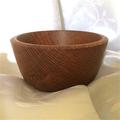 Silky Oak Turned Entertainer's Bowl (Item SO 058)