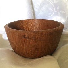 Silky Oak Turned Entertainer's Bowl (Item SO 058)