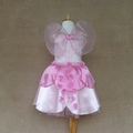 Blossom Fairy Dress with wings and circlet