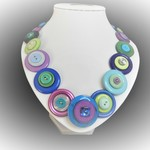 Button necklace-