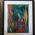 Reef - Original Mixed Media Painting