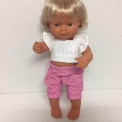 Miniland Rompers and Ruffled Sleeved Top