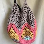 Pineapple Sunrise Bucket Bag