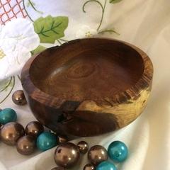 Swamp Mahogany Turned  Bowl (item A 092)