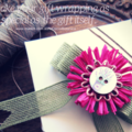Pre-tied Jute Bow Burlap Raffia Floral Gift Wrapping Decor Button  Eco-friendly