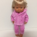 Miniland Tracksuit to fit 38cm Dolls