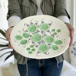 Ceramic Decorative Textured Plate | Gift Idea | Pottery
