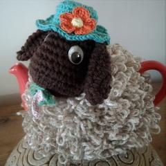 Funky Tea Cosy BAA-tholomew Sheep Quality Easy Care Acrylic Yarn