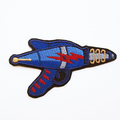Retro Ray Gun Embroidered and Iron on Patch. Space Gun Laser Alien
