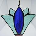 Tulip leadlight / stained glass suncatcher