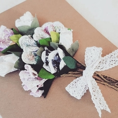Eco-friendly hand-made floral card for all occasions