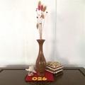 Medium Paperbark / Melaleuca Vase Style Weed Pot (item 026)