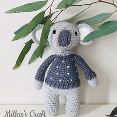 Crochet Koala Soft Toy Amigurumi