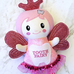 Personalised pink tooth fairy