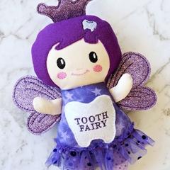 Personalised purple tooth fairy