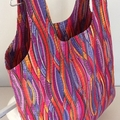 Large Bright, Geometric  Shopping Tote
