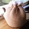 Handmade Tea Cosy (Tan and White)