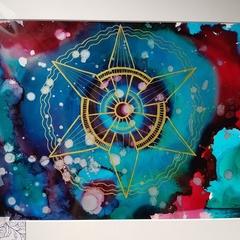 Satellite - Original Artwork