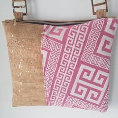 Pink Geo Shoulder Bag