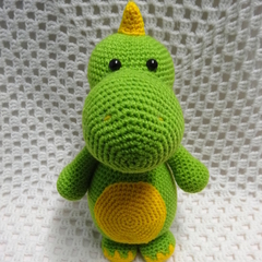 Dinosaur, READY TO POST, Crochet Toy, Amigurumi, Boy Gift